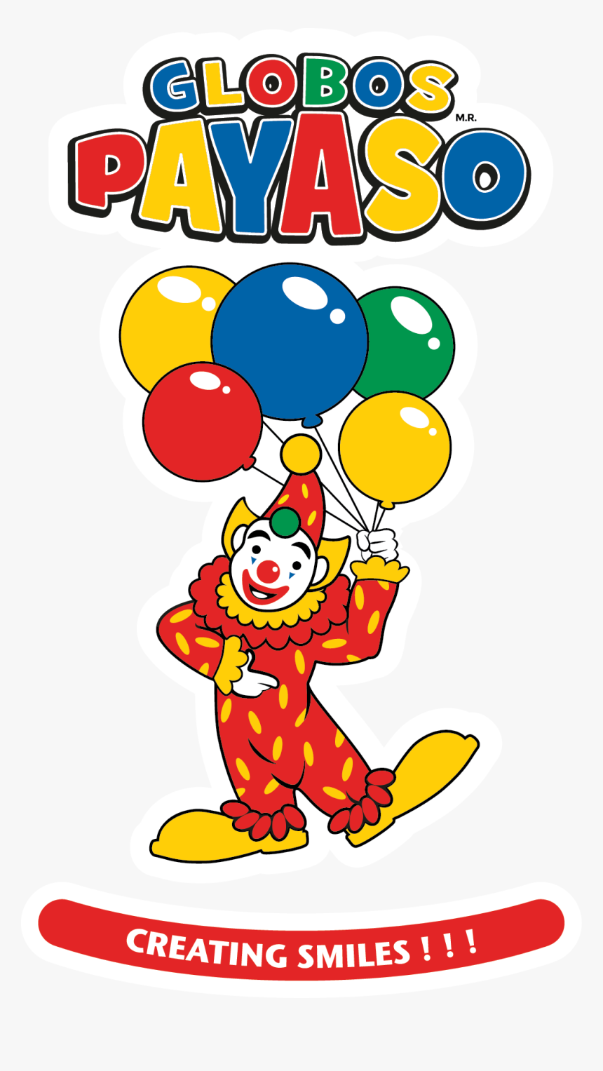 Transparent Globos Png - Globos El Payaso, Png Download, Free Download
