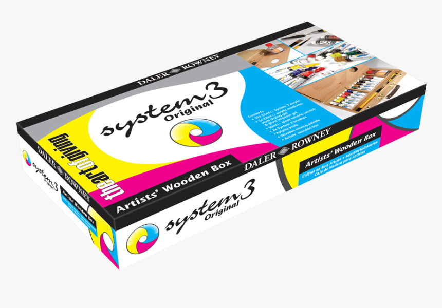 System 3 Wooden Box Artist, HD Png Download, Free Download
