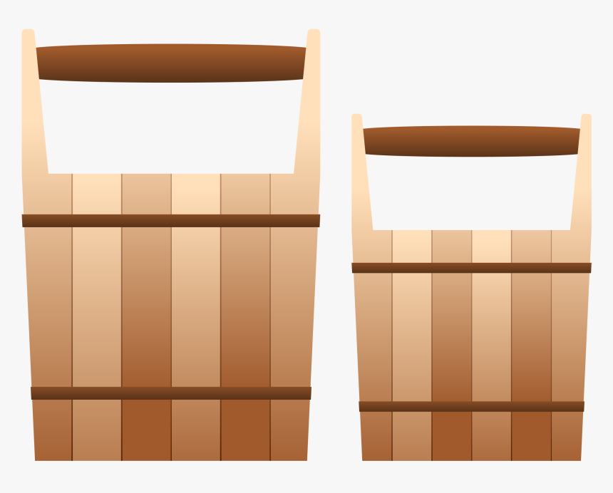 Wooden Pails Clip Arts - Folding Chair, HD Png Download, Free Download