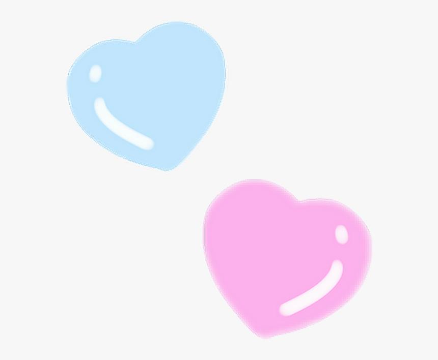 Heart Yumekawaii Fancy Kawaii Pastel 100 Remix Thank - Pastel Heart Picsart, HD Png Download, Free Download