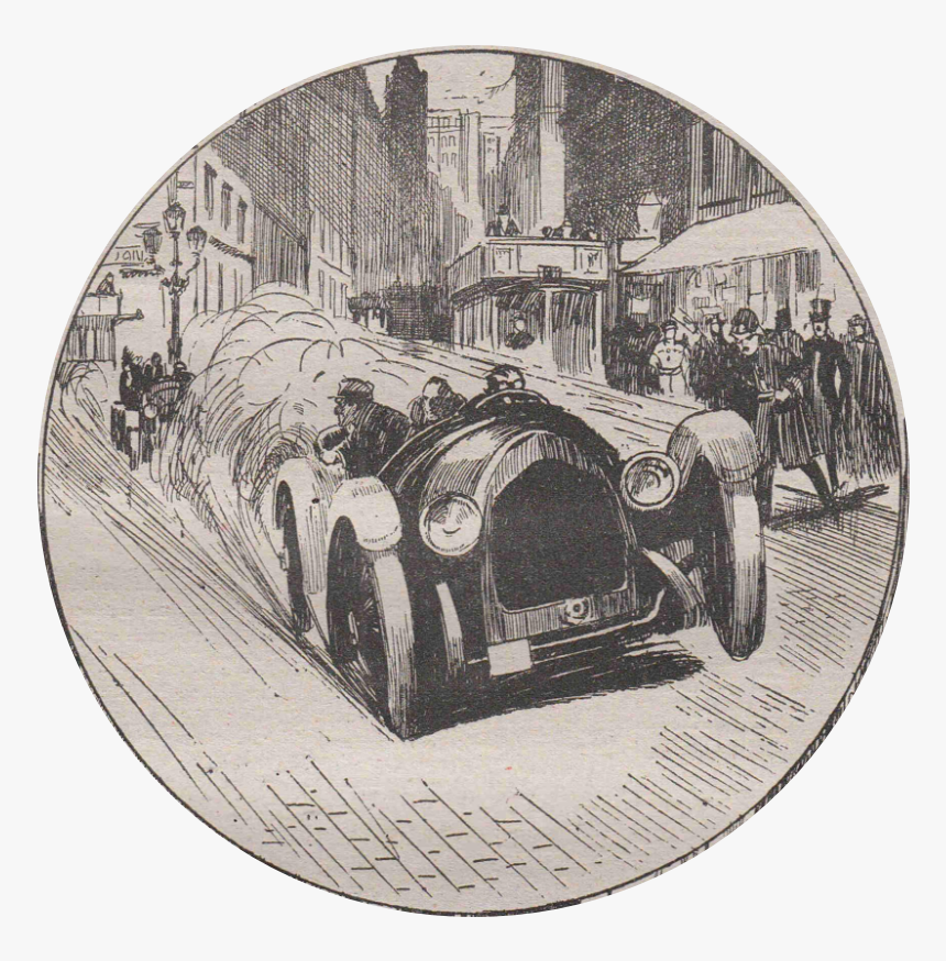 The Great Office Mystery - Vintage Car, HD Png Download, Free Download