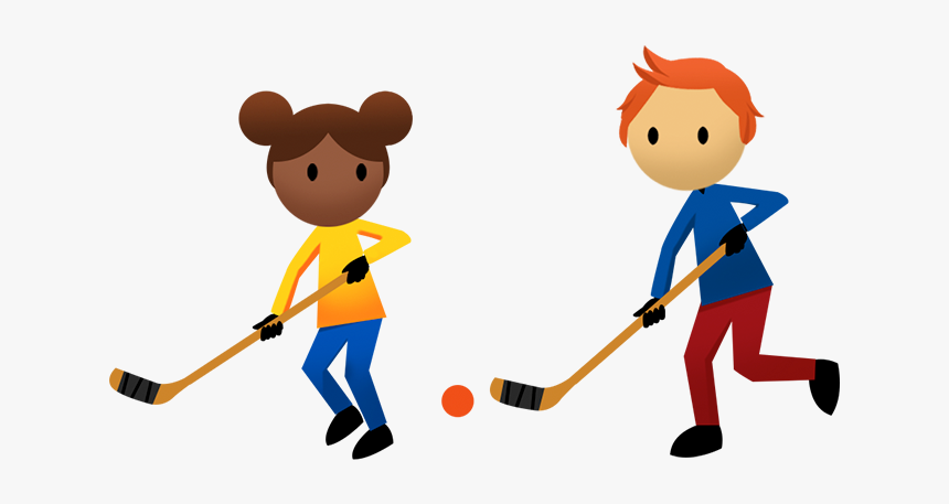 Kids Playing Clipart Physical Education Kid Hockey Clip Art Hd Png Download Kindpng