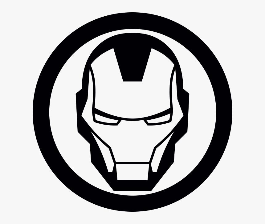 Iron Man Helmet Logo, HD Png Download, Free Download