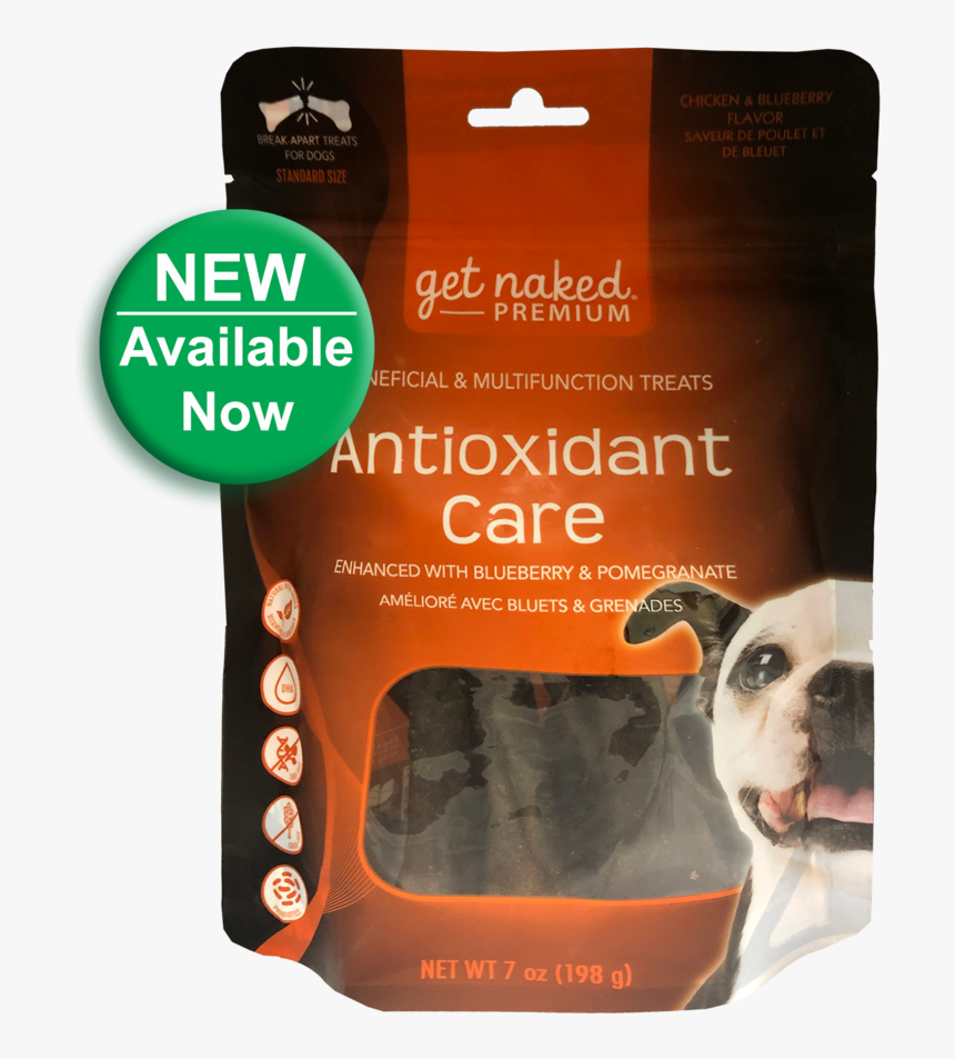 """Get Naked Premium® Antioxidant Care""""  Class=""""lazyload - Companion Dog, HD Png Download, Free Download"""