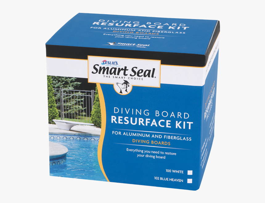 Diving Board Paint Kit For Swimming Pools - Box, HD Png Download, Free Download