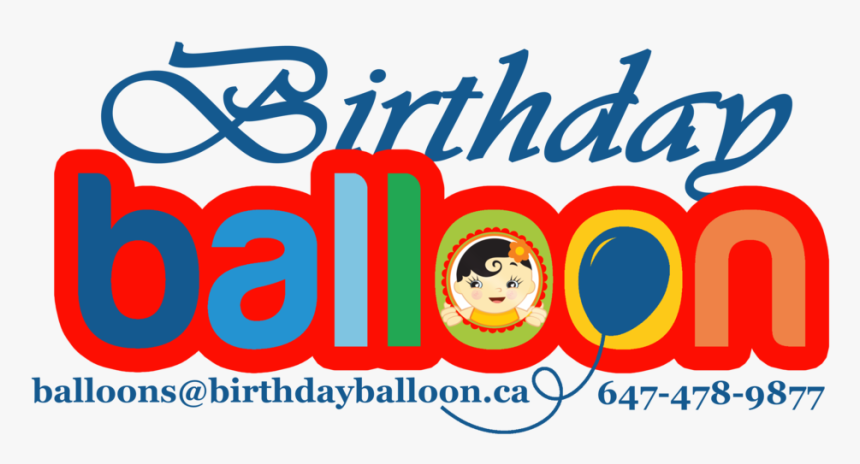 Birthdayballoon - Ca - Happy Birthday, HD Png Download, Free Download