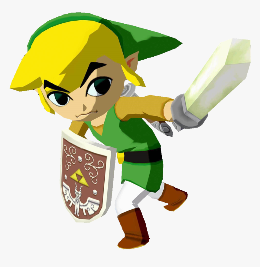 [img] - Link Wind Waker Model, HD Png Download, Free Download