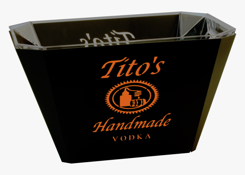 Led Ice Bucket - Tito's Vodka Logo .png, Transparent Png, Free Download