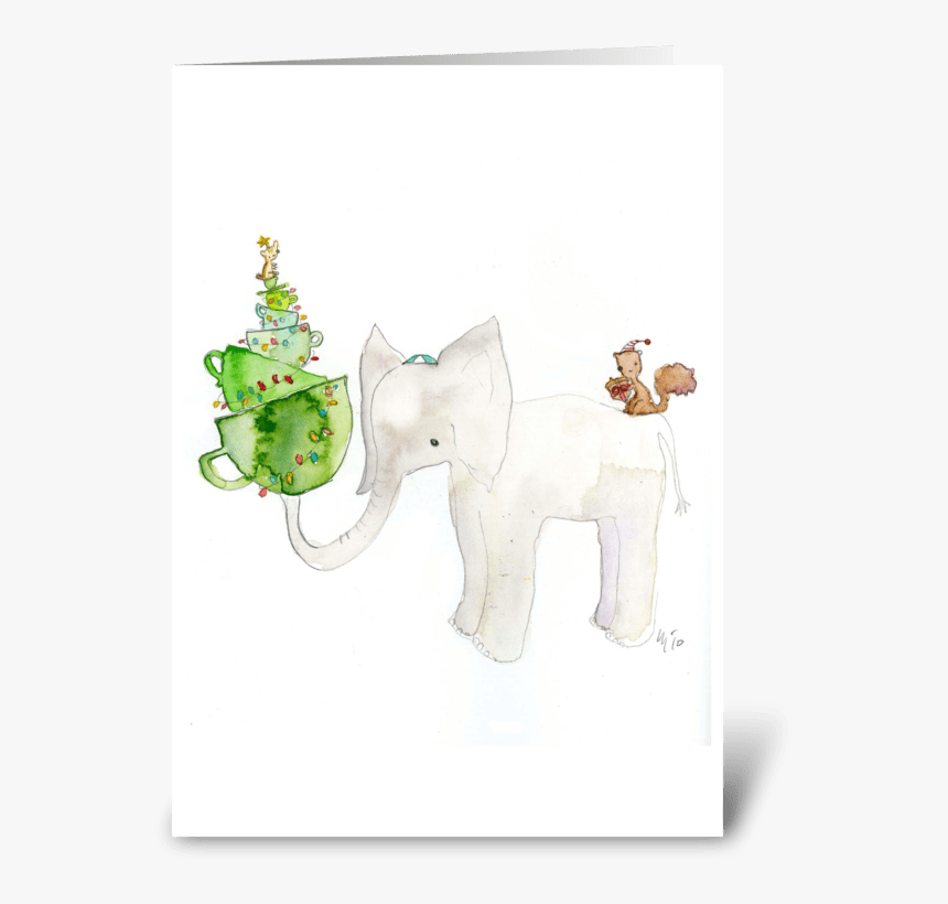 White Elephant Holiday Card Greeting Card Indian Elephant Hd Png Download Kindpng Elephant rabbit drawing child, cute elephant and rabbit, elephant and rabbits, watercolor painting, png material png. kindpng