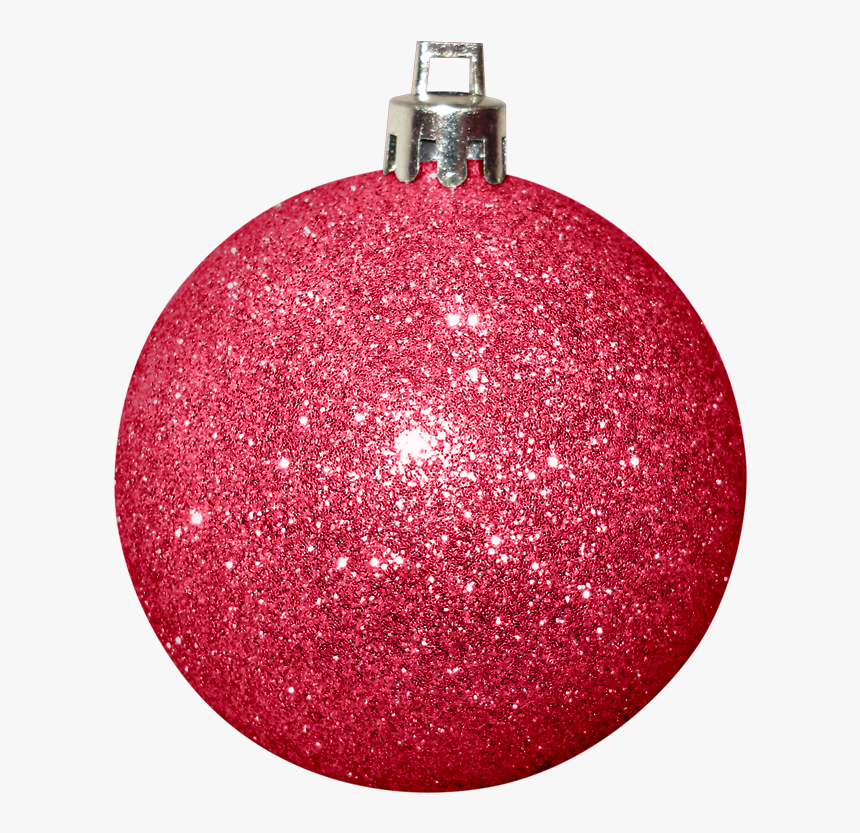 Transparent Christmas Bulbs Clipart - Pink Clip Art Christmas Ornament, HD Png Download, Free Download