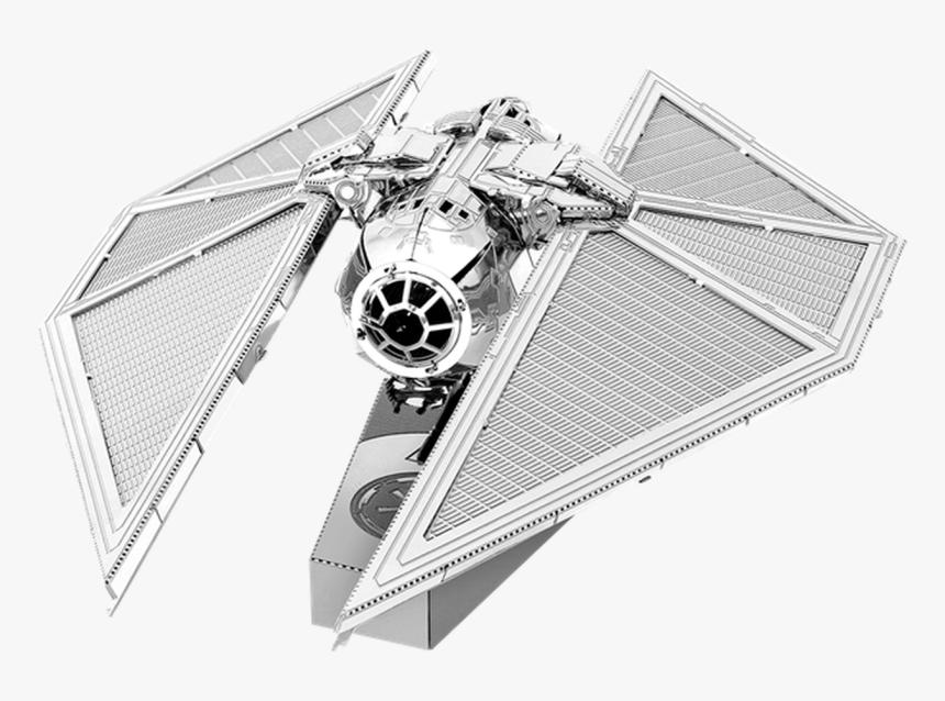 Star Wars Rogue One -tie Striker Metal Earth Model - Metal Earth Tie Striker, HD Png Download, Free Download