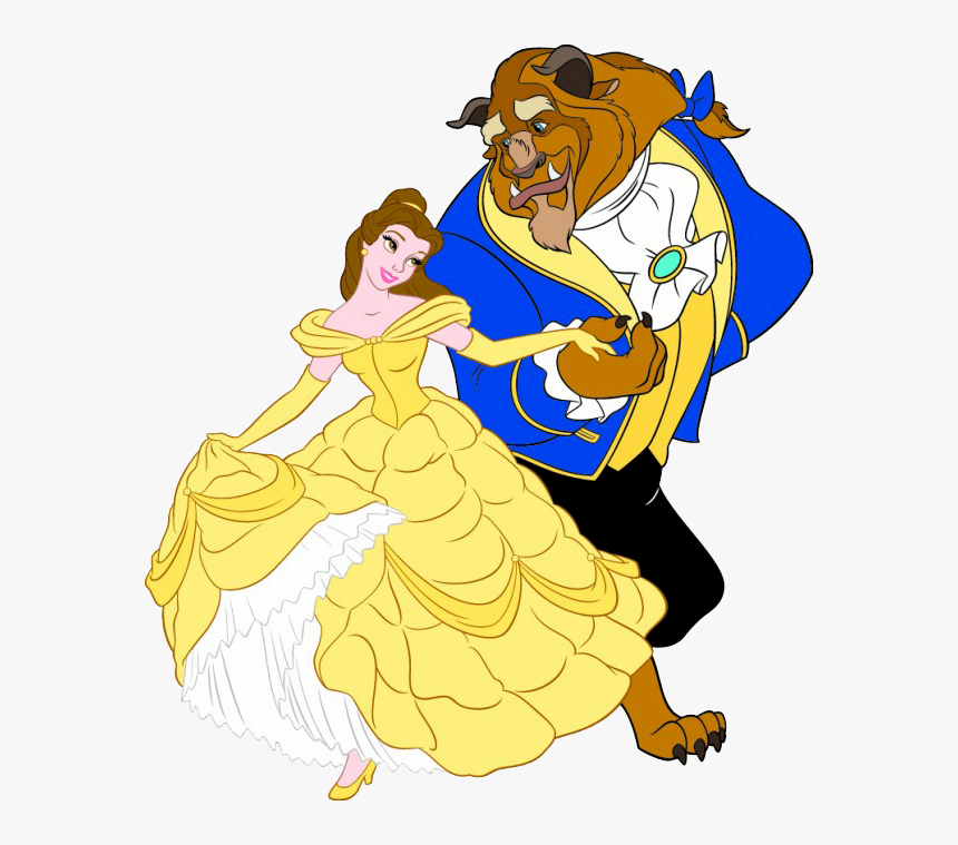 Cartoon Beauty And The Beast Hd Png Download Kindpng