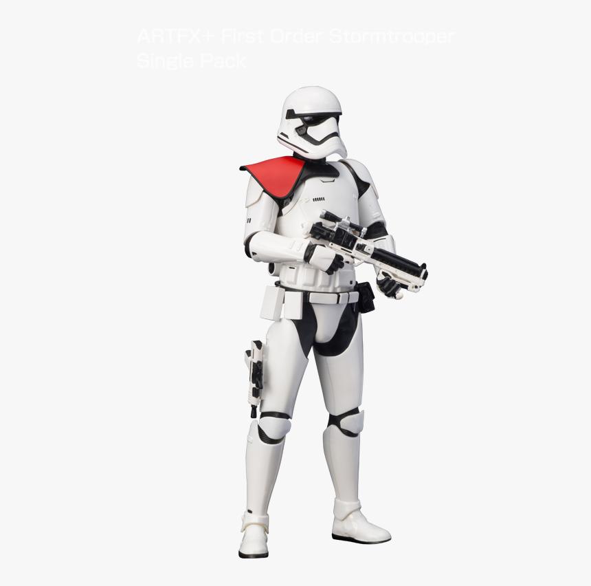 Artfx First Order Stormtrooper Single Pack - Star Wars First Order Stormtrooper Statue, HD Png Download, Free Download