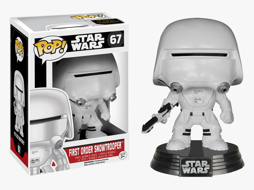 First Order Stormtrooper With Shield Funko Pop Star - Funko Pop Star Wars, HD Png Download, Free Download