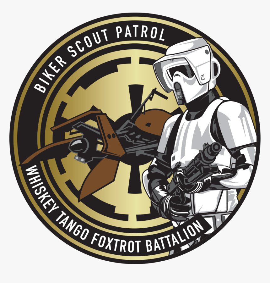 Transparent First Order Stormtrooper Png - Star Wars Patch Stormtrooper, Png Download, Free Download
