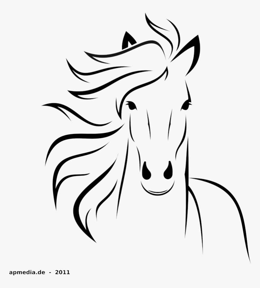 Goat Clipart Horse Drawing Easy Cliparts Cartoons Transparent
