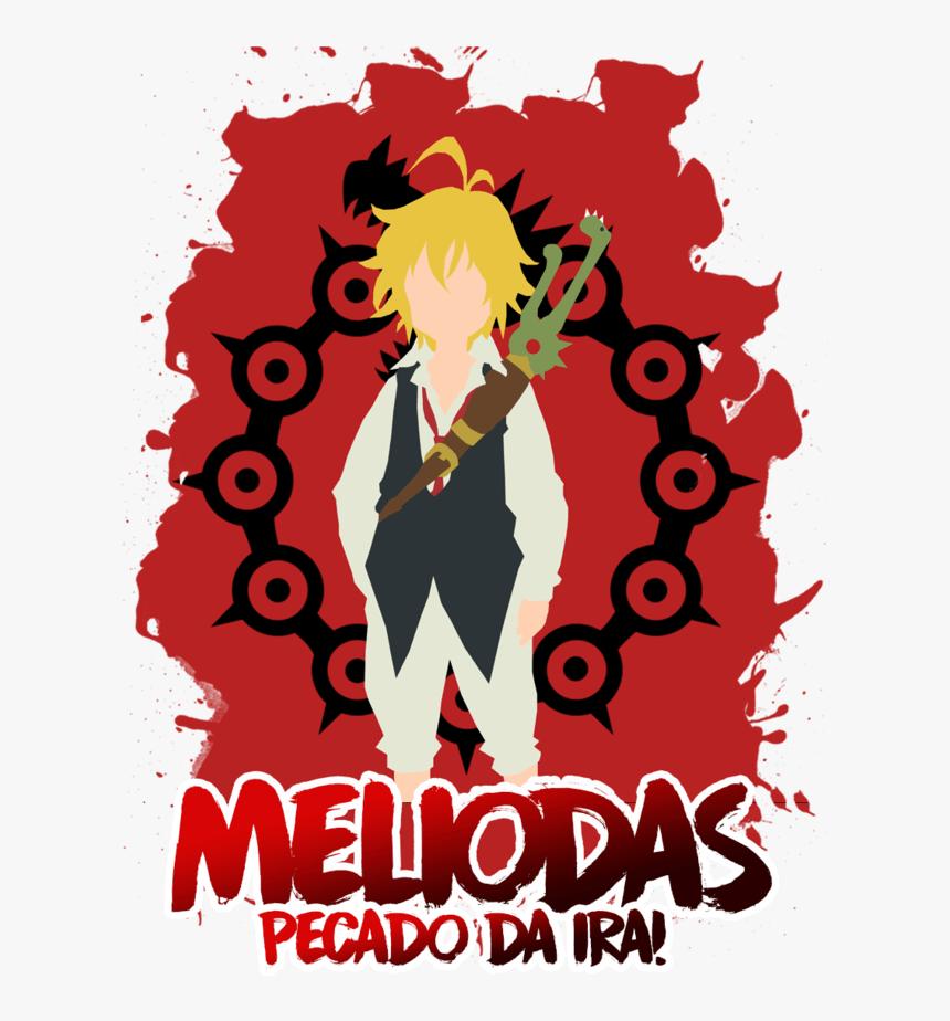 Camisa Manga Longa Meliodas Nanatsu No Taizai - Seven Deadly Sins Background, HD Png Download, Free Download