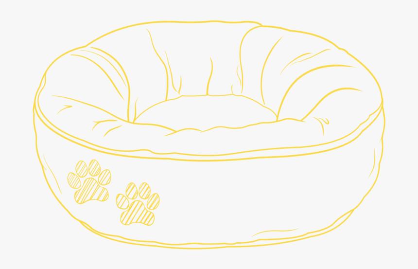 Dog Bed Sketch Futon Pad Hd Png