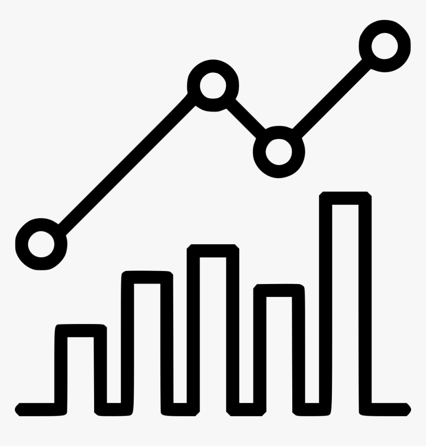 Growth Icon Png White , Png Download - Statistics Icon Png Transparent, Png Download, Free Download