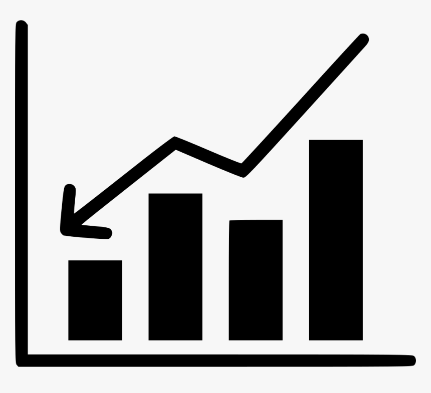 Bussiness Analysis Report Chart Document Statistics - Statistics Clipart Black And White, HD Png Download, Free Download