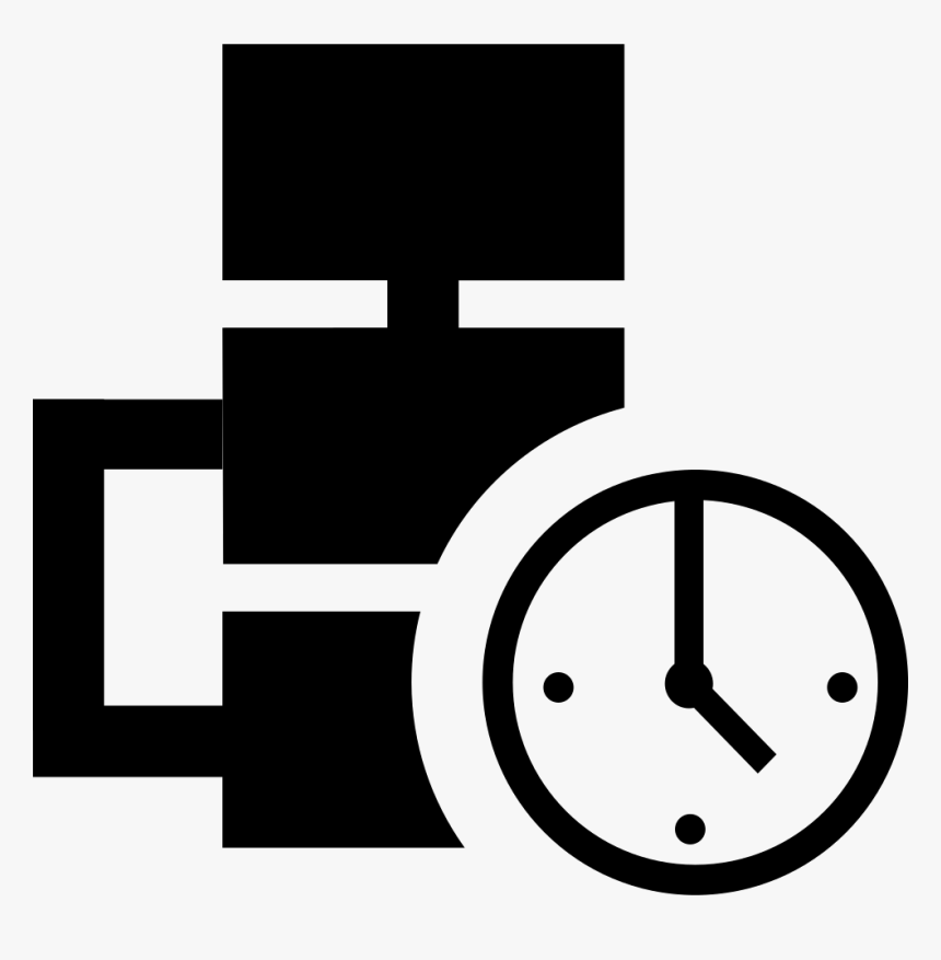 Work Process Time Statistics - Process Time Icon Png, Transparent Png, Free Download