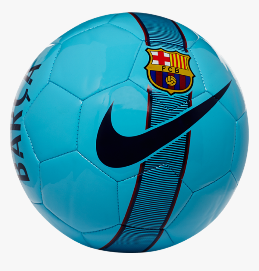 Transparent Nike Soccer Ball Png - Blue Barcelona Soccer Ball, Png Download, Free Download