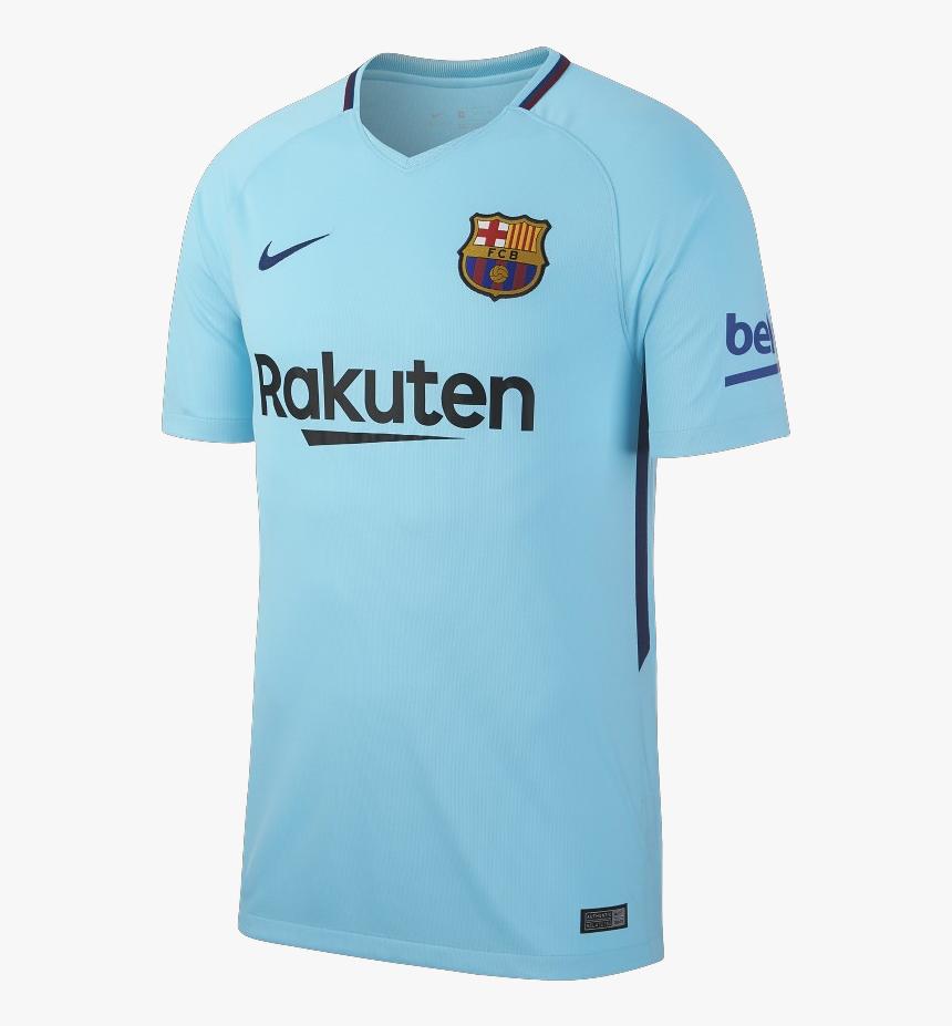 "Fc Barcelona 17/18 Away Jersey""  Title=""fc Barcelona - Jersey Barcelona 2017 2018, HD Png Download, Free Download"