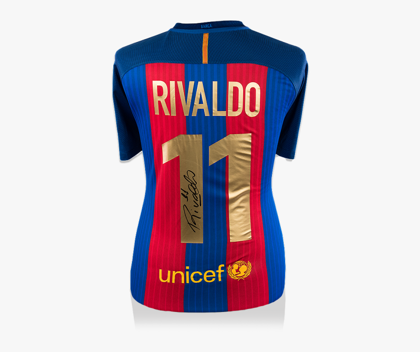 Jersey Rivaldo Barcelona, HD Png Download, Free Download