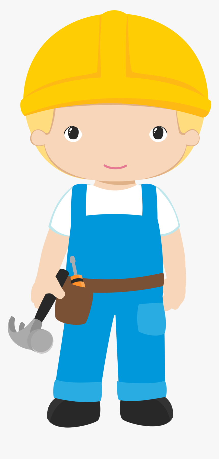 Image Stock Pinata Clipart Themed - Construction Worker Clipart, HD Png Download, Free Download