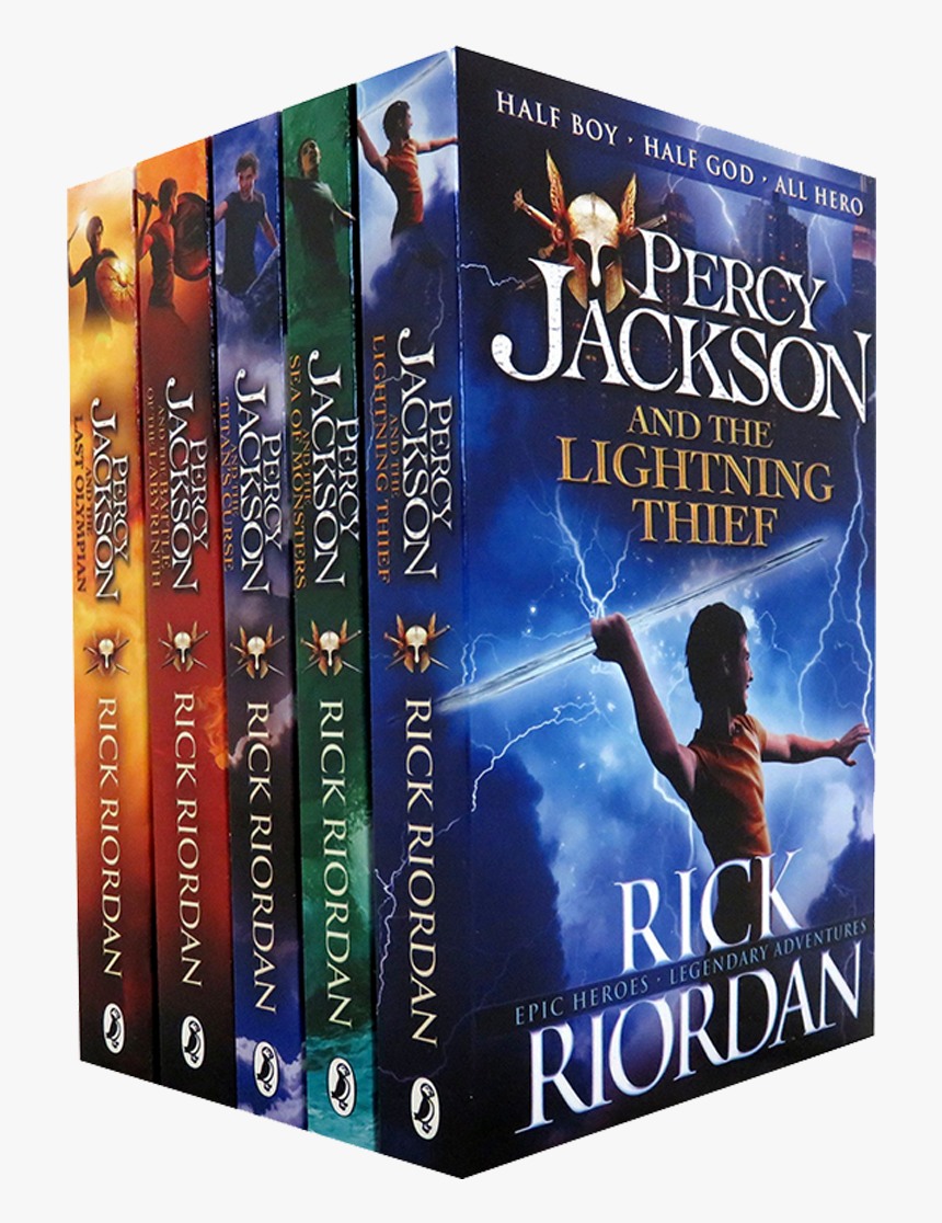 Picture Of Percy Jackson 5 Books Ultimate Collection Hd Png Download Kindpng