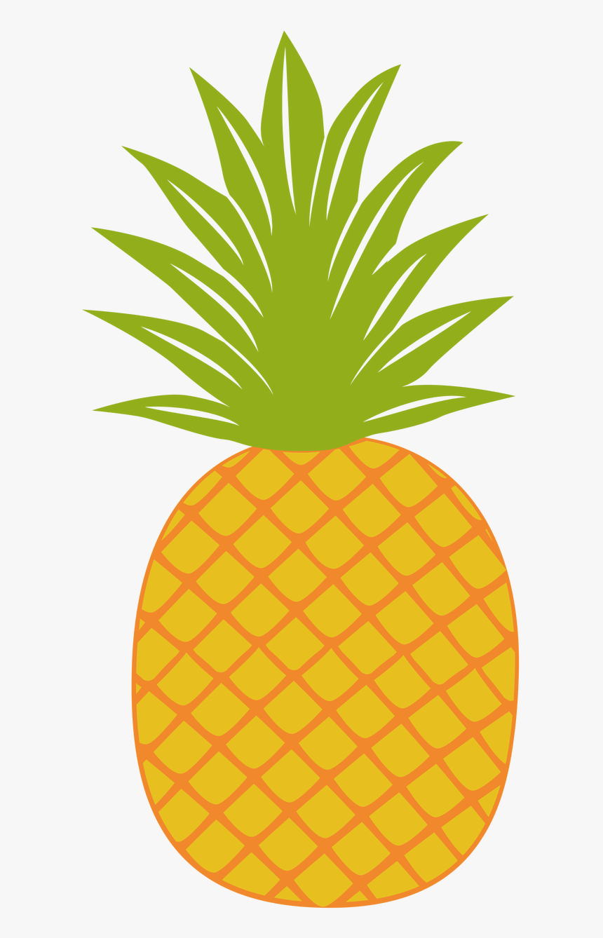 Pineapple Clipart Fancy - Pineapple Clipart, HD Png Download, Free Download