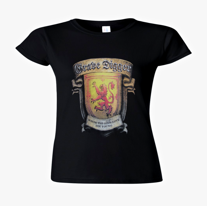 Grave Digger Official Girlie-shirt The Ballad Of Mary - Crest, HD Png Download, Free Download