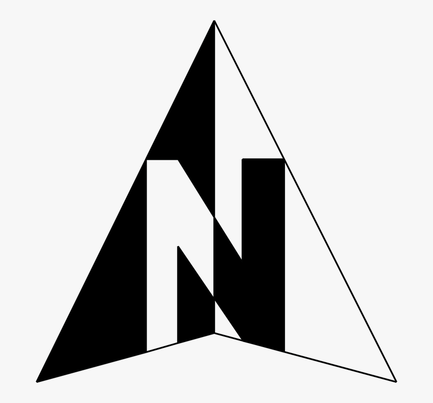North Arrow Symbol - Transparent Background North Arrow Png, Png Download, Free Download
