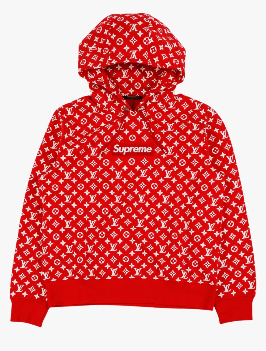 Supreme Louis Vuitton Hoodie Hd Png Download Kindpng