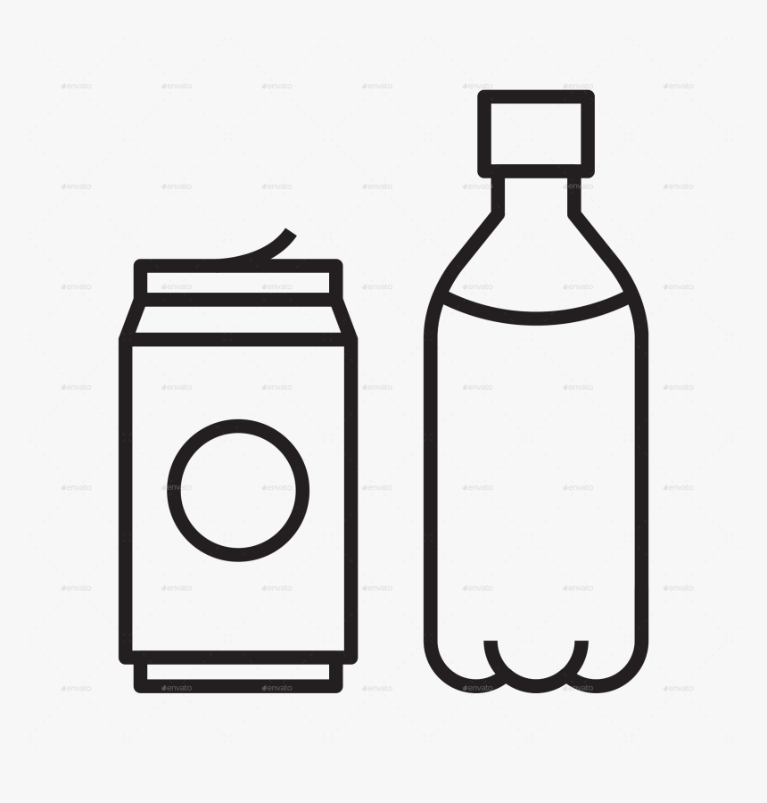 Transparent Water Bottle Icon Png - Glass Bottle, Png Download, Free Download