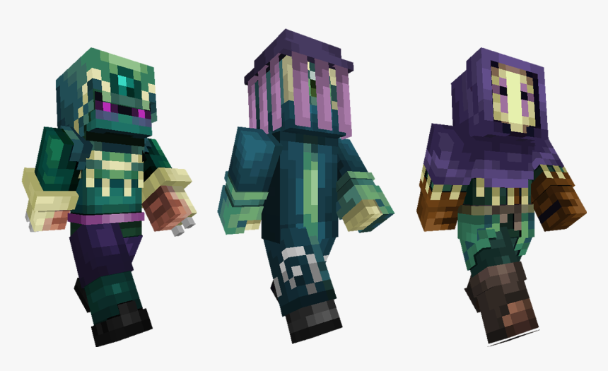 End Engineer Minecraft Skin, HD Png Download, Free Download