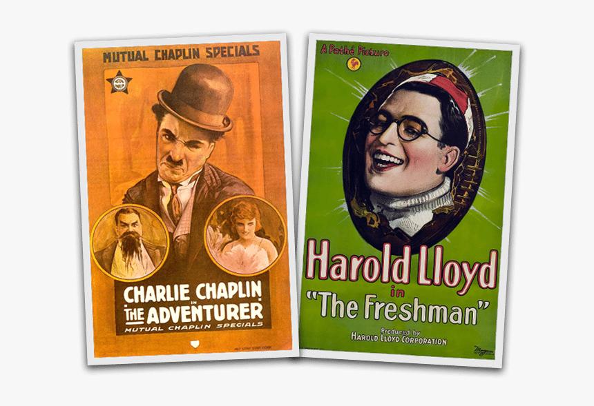 Adventurer 1917 Charlie Chaplin Poster, HD Png Download, Free Download