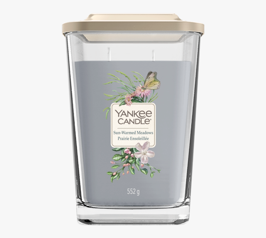 Yankee Candle Sun-warmed Meadows Large Vessel Geurkaars - Yankee Candle, HD Png Download, Free Download