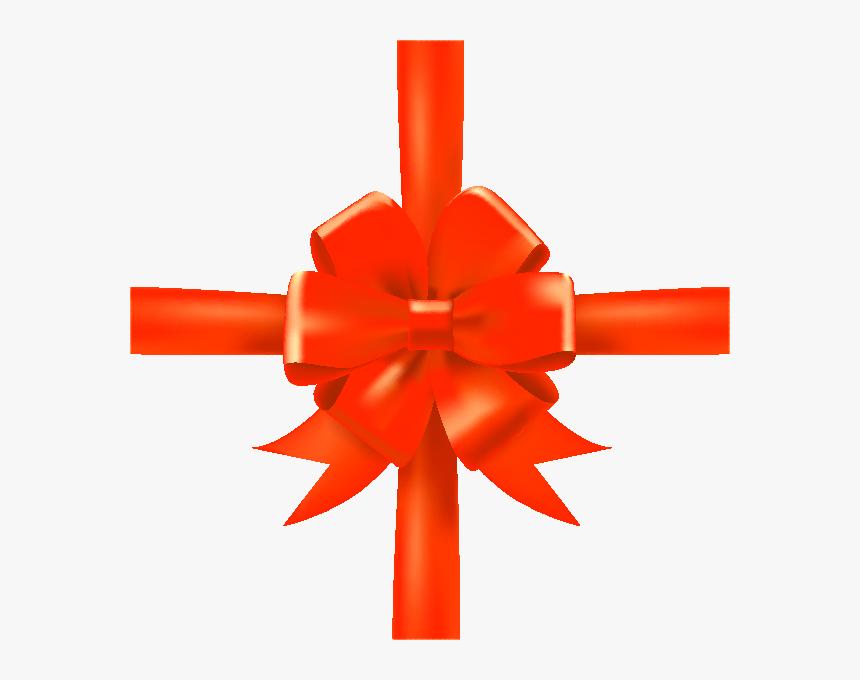 Orange Ribbon Png - Ribbon, Transparent Png, Free Download