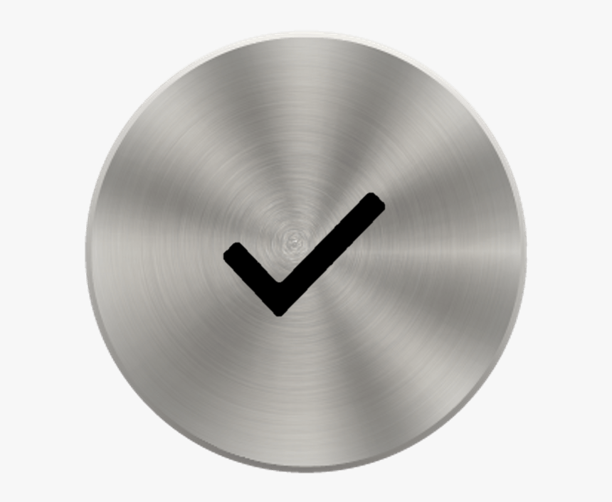 Transparent Metal Button Png - Icon Circle Metal Png, Png Download, Free Download
