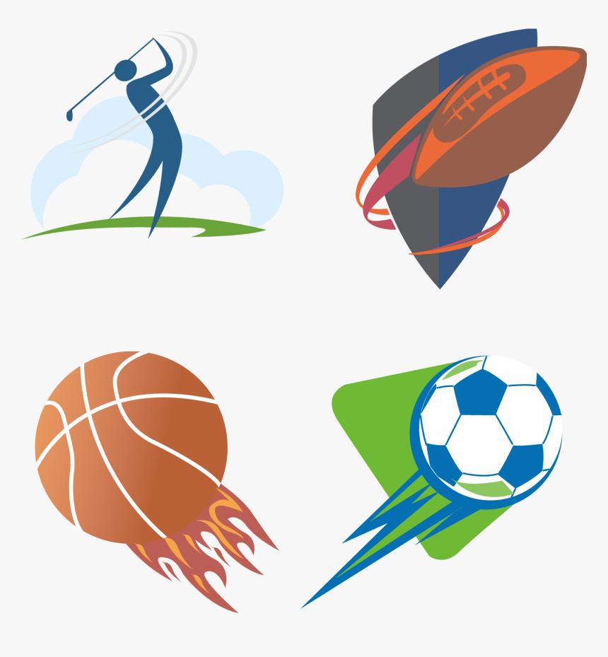Sports Clipart Vector Creative Sport Logo Design Hd Png Download Kindpng