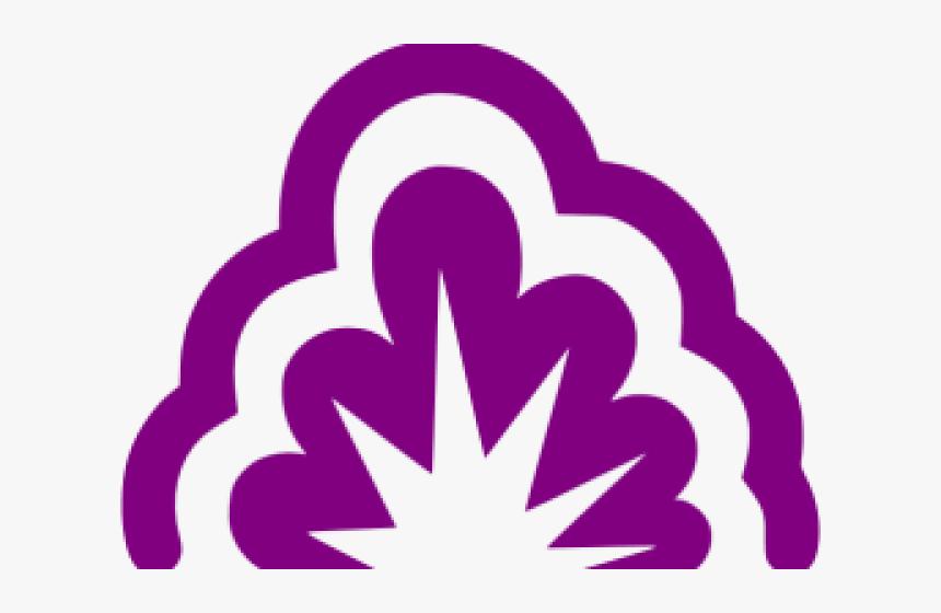 Transparent Purple Explosion Png - Purple Explosion Gif Transparent, Png Download, Free Download