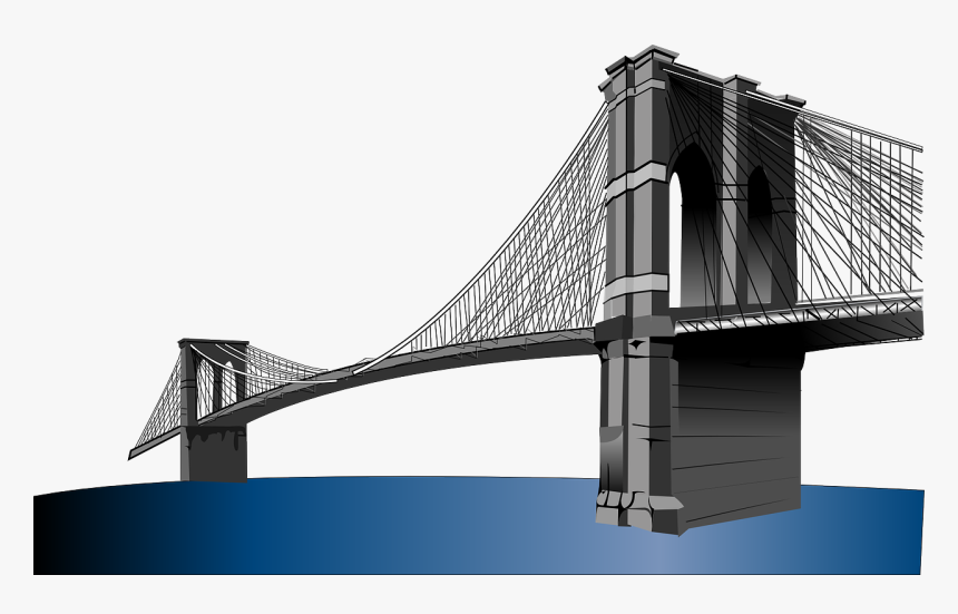 Brooklyn Bridge Clipart, HD Png Download, Free Download