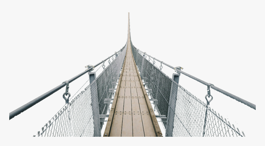 Transparent Suspension Bridge Clipart - Self-anchored Suspension Bridge, HD Png Download, Free Download