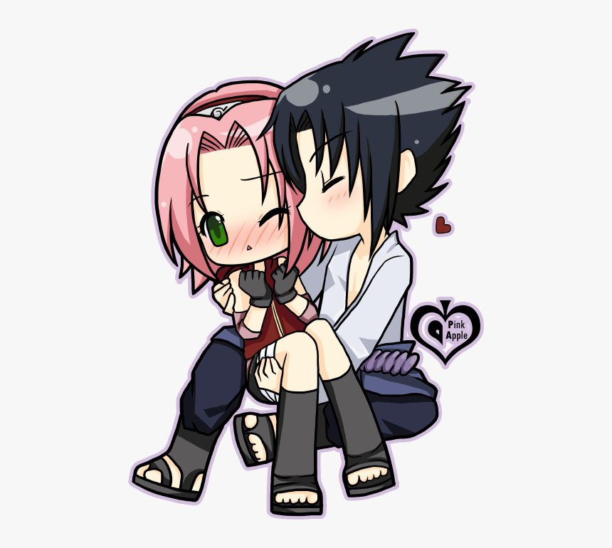 Kiss sasuke and sakura Sasuke and