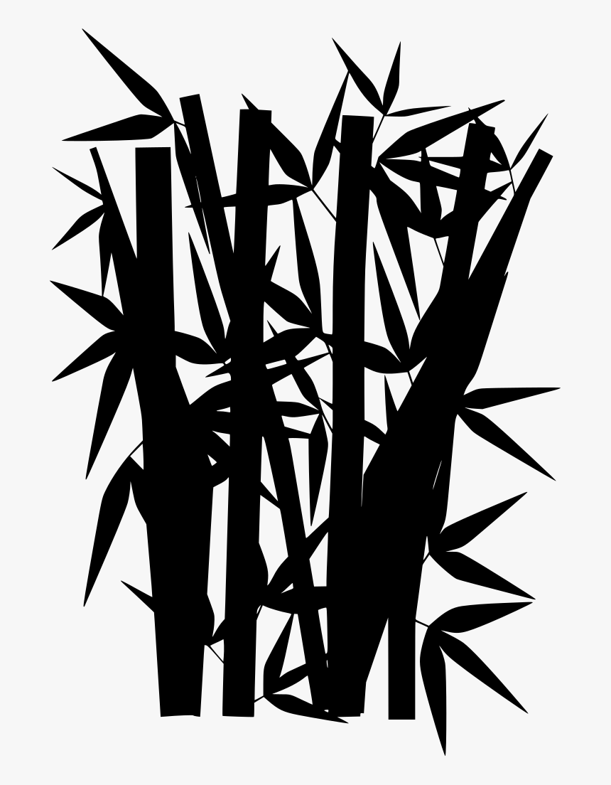 Bamboo Leaves Clipart Png, Transparent Png, Free Download