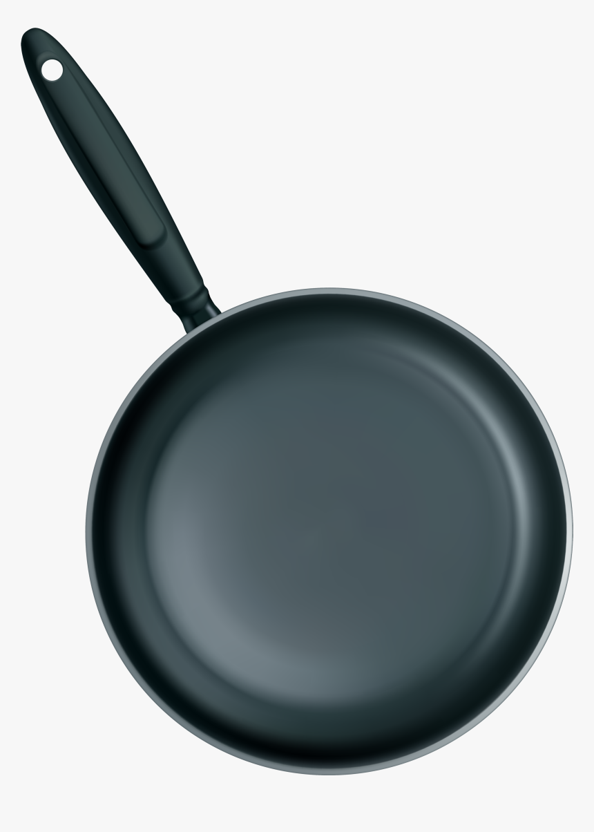 Pan Clipart Fryer - Frying Pan No Background, HD Png Download, Free Download