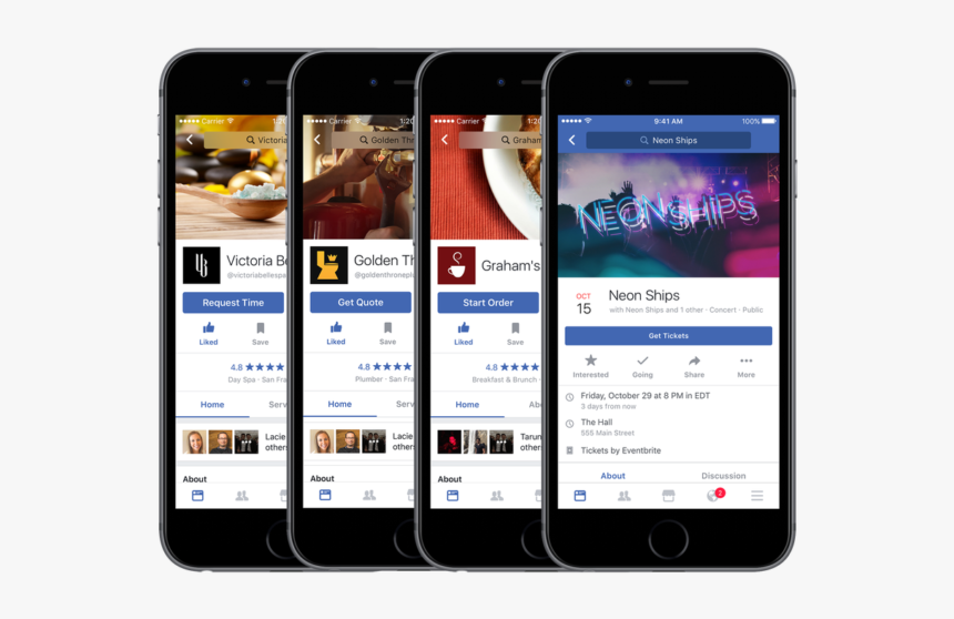 Facebook Business Page Mobile, HD Png Download, Free Download