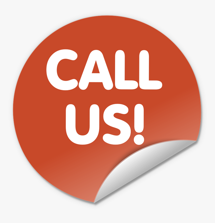 Button, Round, Contact, Call Us, Red, Icon, Symbol - Call Us Logo Png, Transparent Png, Free Download