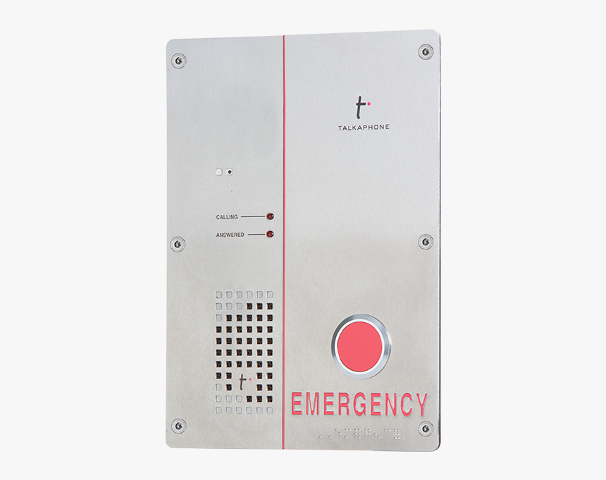 Single Push Button, Hands Free Emergency Phone Is Specially - Voice Over Ip, HD Png Download, Free Download